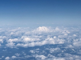 Rising Above the Commotion, Mount Rainier, Washington State